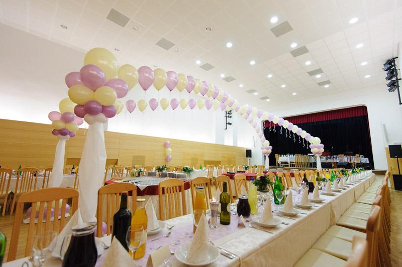 Sokolski dom_velika dvorana_poročno slavje