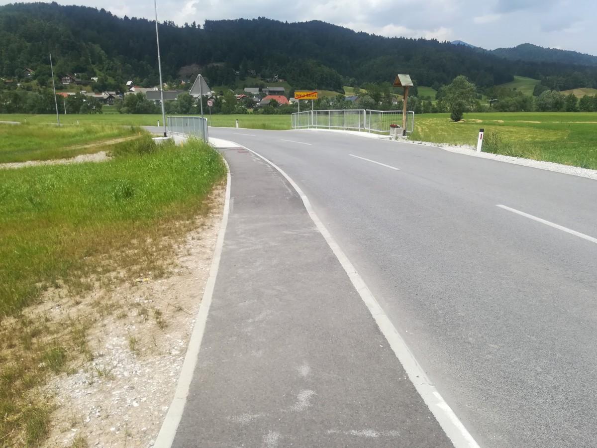 Ureditev državne ceste skozi Dolenjo Dobravo