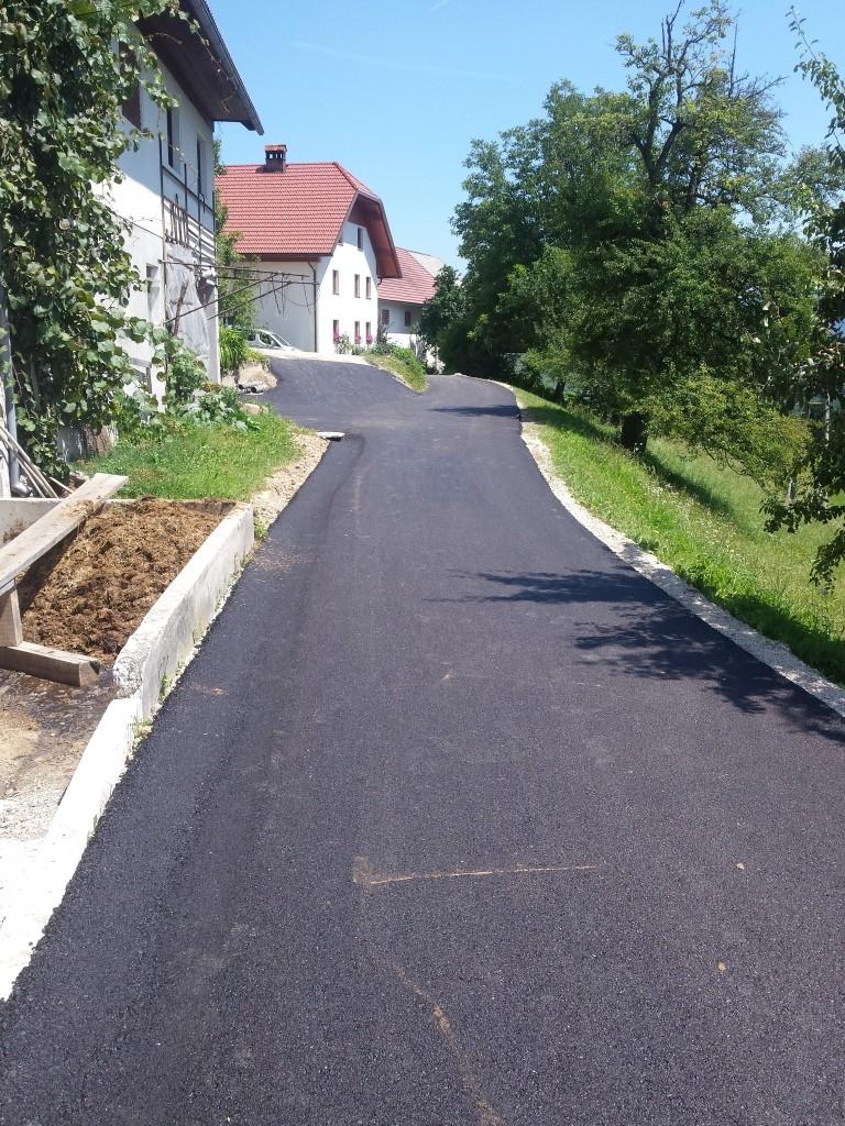 Redno letno asfaltiranje 2017