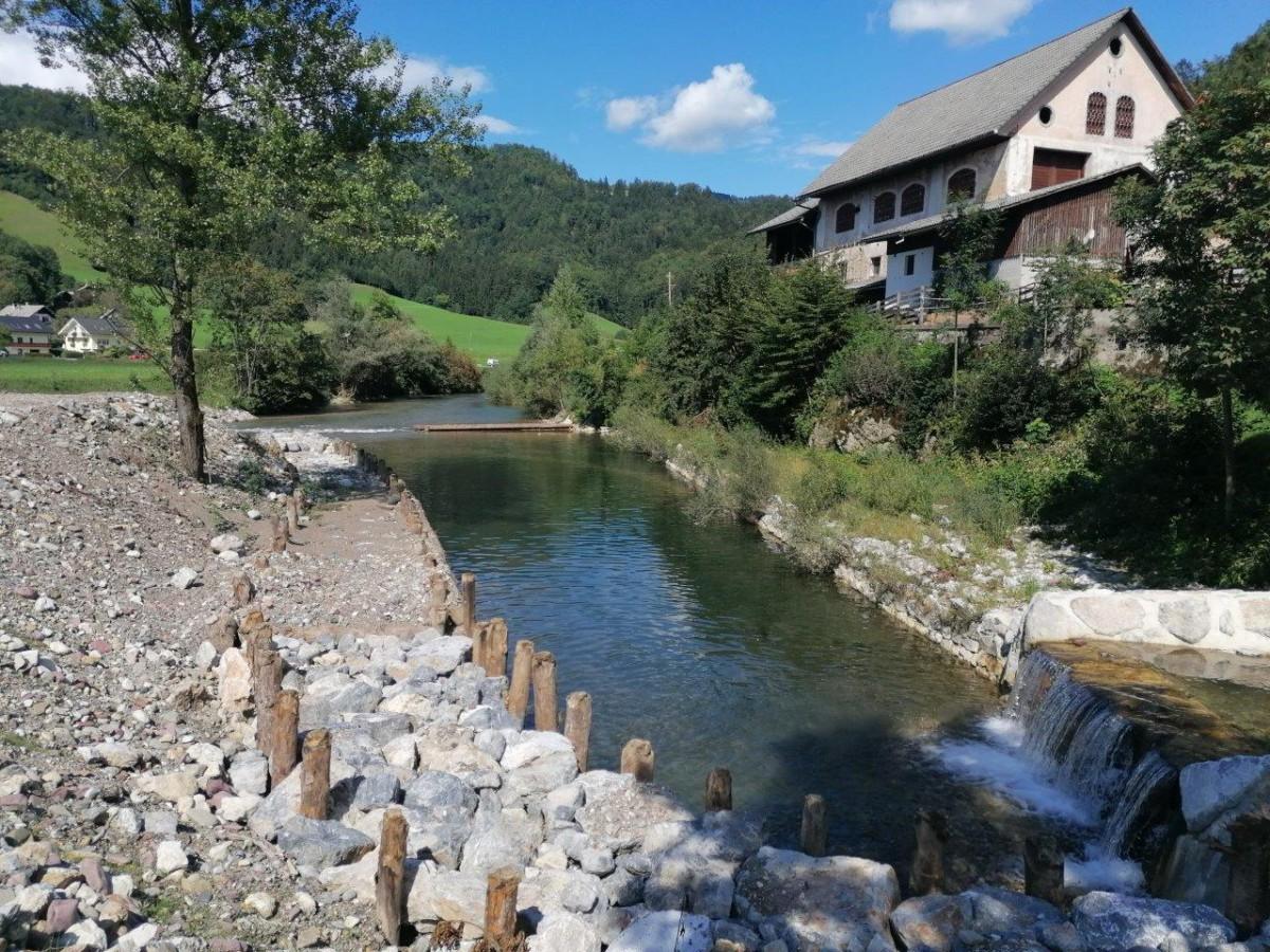 Znižanje obstoječega terena na novo koto poplavne ureditve