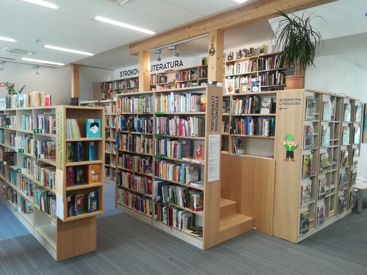 Nova knjižnica Ivana Tavčarja v Sokolskem domu