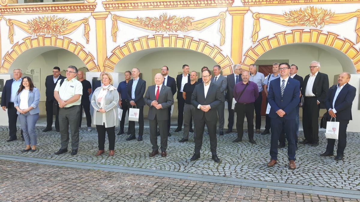 Župan se je udeležil seje Kluba primorskih poslancev