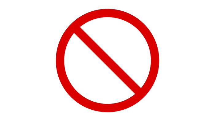 Začasna prepoved zbiranja ljudi