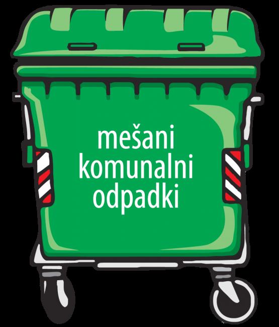 S 1. julijem za 10% nižje cene storitev zbiranja komunalnih odpadkov
