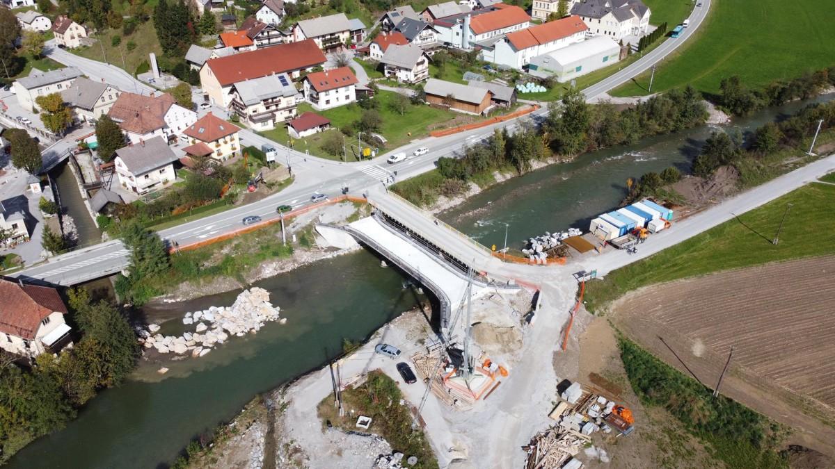 Po prvem letu gradnje protipoplavnih ukrepov v Poljanah