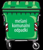 Odvoz odpadkov - obvestilo