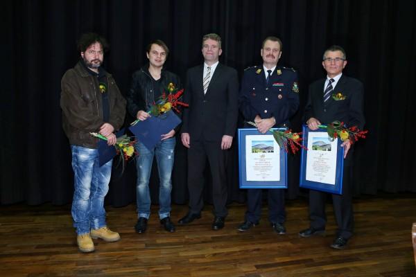 Občinski nagrajenci za leto 2012