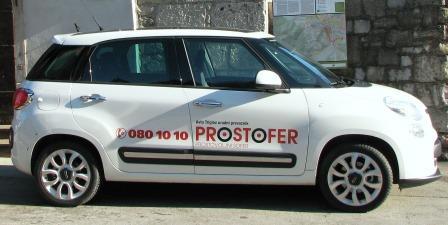 Prostofer tudi v Gorenji vasi