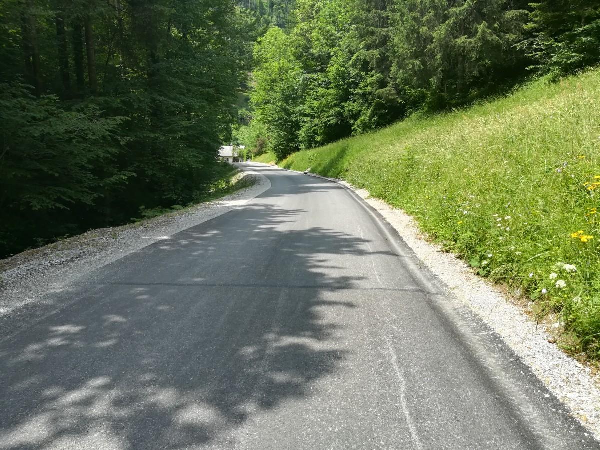 Sanacija ceste Hotovlja - Kremenik in Vinharje