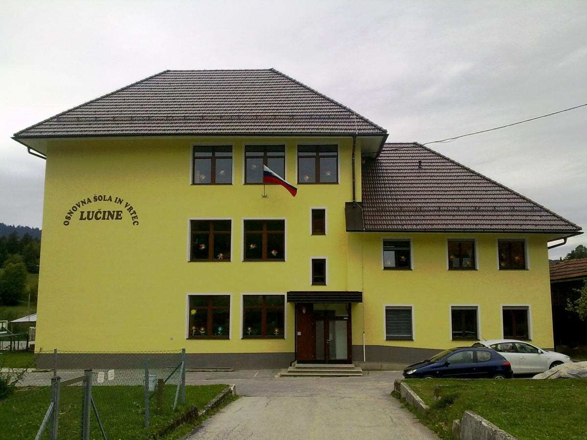 Obnova Podružnične šole Lučine