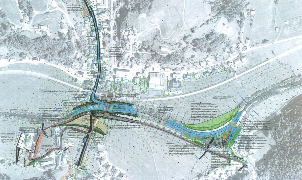 Izdano gradbeno dovoljenje za poplavne ureditve Poljane