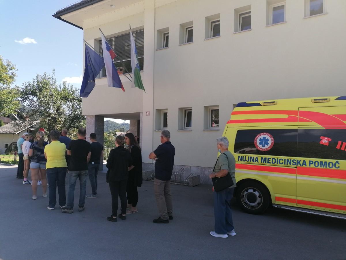 Izjemen odziv na cepljenje v Gorenji vasi