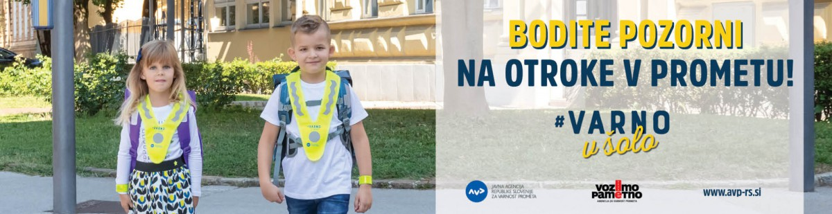 Na šolske poti se vračajo otroci