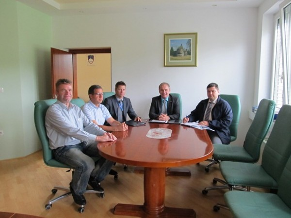 Obisk ministra za obrambo