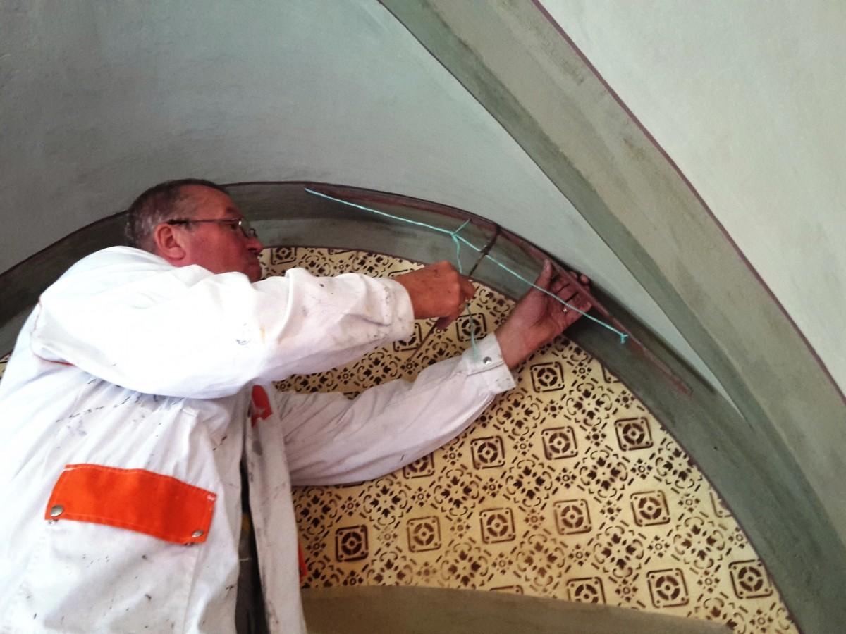 Restavratorska dela na Tavčarjevem dvorcu se nadaljujejo